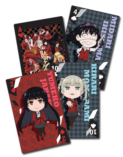 Kakegurui - Big Group Playing Cards, an officially licensed product in our Kakegurui Playing Cards department.