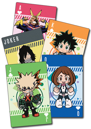 My Hero Academia - Sd Group Playing Cards, an officially licensed product in our My Hero Academia Playing Cards department.