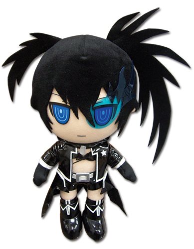 Black Rock Shooter - Black Rock Shooter Plush, an officially licensed Black Rock Shooter product at B.A. Toys.
