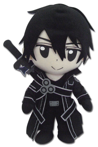 Sword Art Online Kirito Plush, an officially licensed product in our Sword Art Online Plush department.