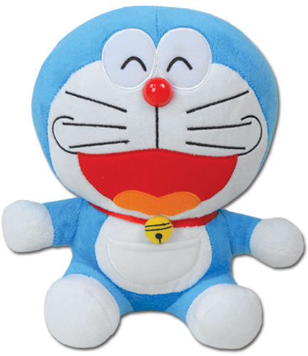 Doraemon - Smile Face Doraemon Plush 10'', an officially licensed Doraemon Plush