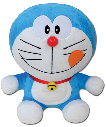 Doraemon - Doraemon Delicious Smile Face Plush 10'' officially licensed product at B.A. Toys.