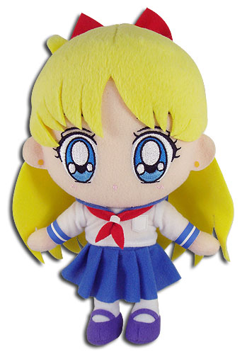 Sailor Moon - Minako Plush 8'', an officially licensed product in our Sailor Moon Plush department.