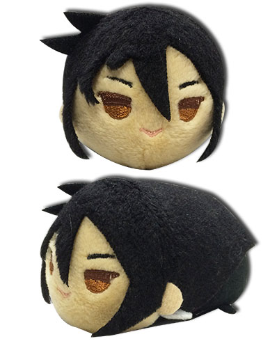 Black Butler - Sebastian Mini Plush 3.5, an officially licensed Black Butler product at B.A. Toys.