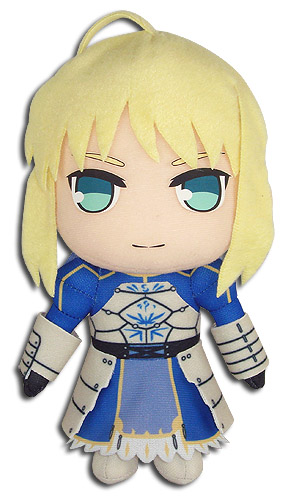 Fate/stay Night - Saber Plush 8'' officially licensed Fate/Zero Plush product at B.A. Toys.