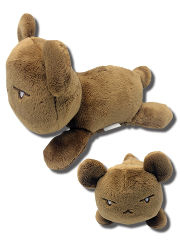 Ouran H.S. Host Club - Bear Lie Prone Posture Plush 4'', an officially licensed product in our Ouran High School Host Club Plush department.