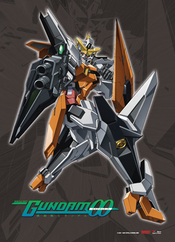 Gundam 00 Kyrios Wall Scroll, an officially licensed product in our Gundam 00 Wall Scroll Posters department.