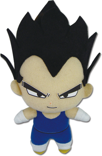 Dragon Ball Z - Sd Vegeta Plush 5'' officially licensed Dragon Ball Z Plush product at B.A. Toys.