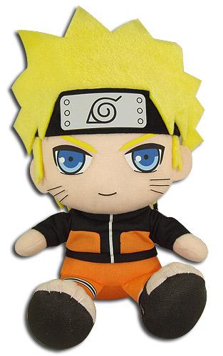 Naruto Shippuden - Naruto Sitting Pose Plush 7
