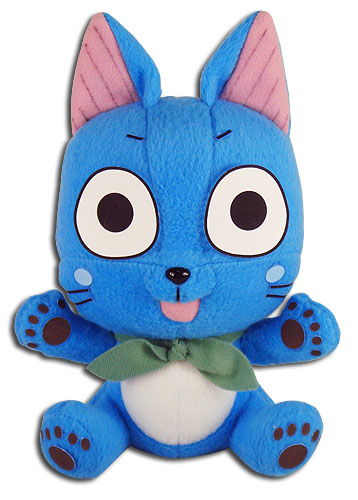 Fairy Tail - Happy Plush 5'', an officially licensed product in our Fairy Tail Plush department.