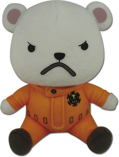 One Piece - Bepo Plush 5'' officially licensed One Piece Plush product at B.A. Toys.