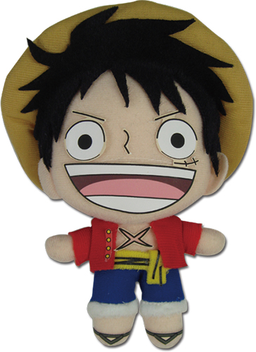 One Piece - Luffy New World Plush 5'', an officially licensed product in our One Piece Plush department.