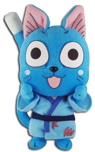 Fairy Tail - Happy Yukata Plush 8'', an officially licensed product in our Fairy Tail Plush department.