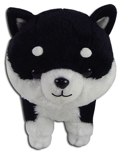 Black Shiba Plush 5'', an officially licensed Everything Else product at B.A. Toys.