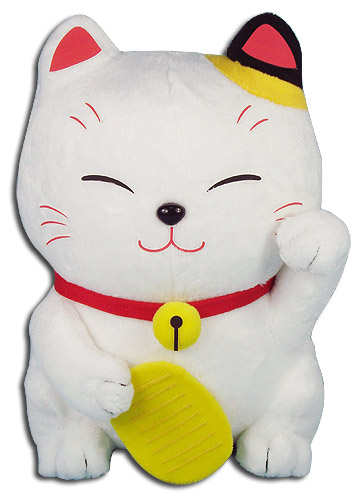 Great Eastern - Lucky Cat Plush 8'', an officially licensed product in our Great Eastern Plush department.