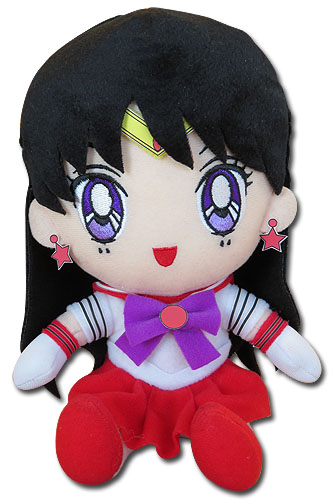 Sailor Moon - Sailor Mars Plush 7'', an officially licensed product in our Sailor Moon Plush department.