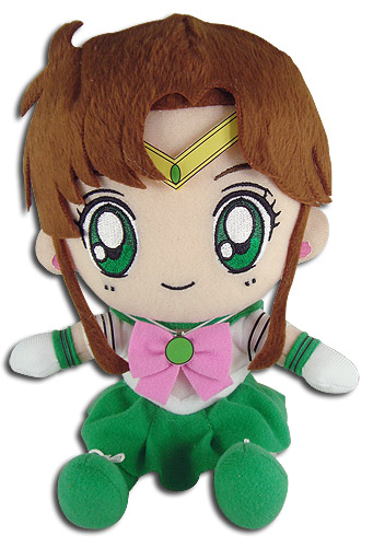 Sailor Moon - Sailor Jupiter Plush 7''', an officially licensed product in our Sailor Moon Plush department.