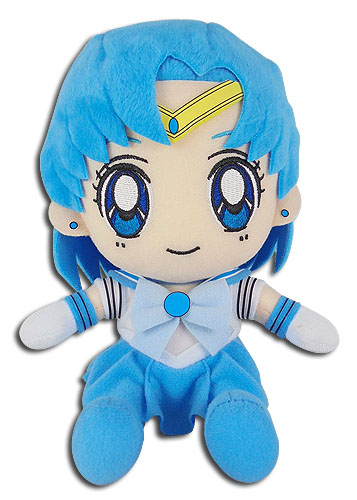 Sailor Moon - Sailor Mercury Plush 7