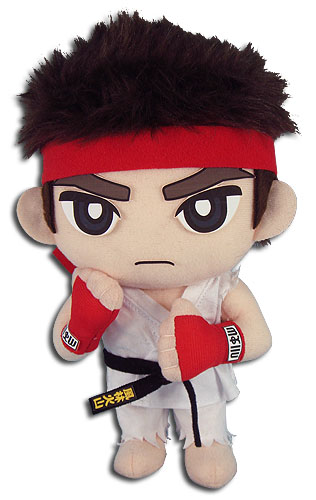 Street Fighter V - Ryu Plush 8'', an officially licensed product in our Street Fighter Plush department.
