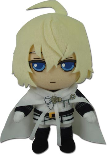 Seraph Of The End - Mikaela Plush 8'', an officially licensed product in our Seraph Of The End Plush department.