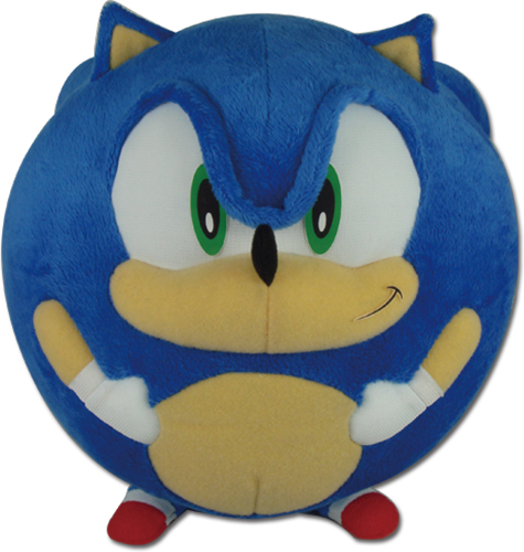 Sonic The Hedgehog - Sonic Ball Plush 8