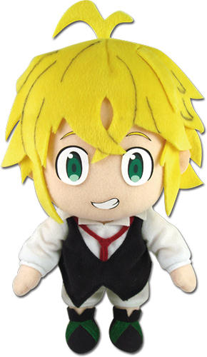 The Seven Deadly Sins - Meliodas Plush, an officially licensed product in our The Seven Deadly Sins Plush department.