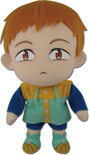 The Seven Deadly Sins - King Plush 8'' officially licensed The Seven Deadly Sins Plush product at B.A. Toys.