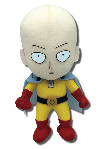 One Punch Man - Saitama Plush 8'', an officially licensed product in our One-Punch Man Plush department.