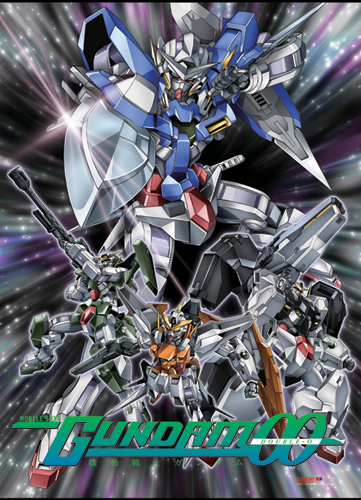 Gundam 00 Wall Scroll, an officially licensed product in our Gundam 00 Wall Scroll Posters department.