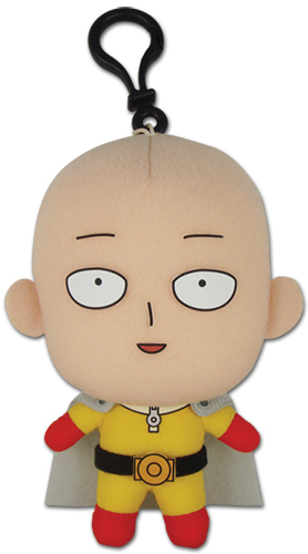 One Punch Man - Saitama Plush 5'', an officially licensed product in our One-Punch Man Plush department.