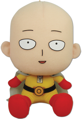 One Punch Man - Saitama Plush 7'', an officially licensed product in our One-Punch Man Plush department.