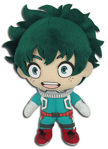 My Hero Academia - Midoriya Plush, an officially licensed product in our My Hero Academia Plush department.