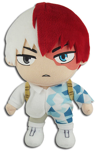 My Hero Academia - Todoroki Plush 8'', an officially licensed product in our My Hero Academia Plush department.