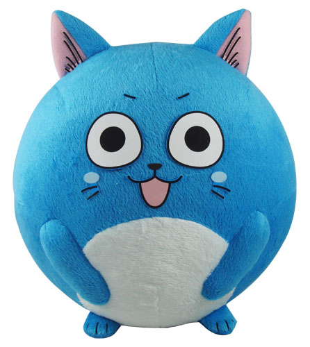 Fairy Tail - Happy Ball Plush 8'', an officially licensed product in our Fairy Tail Plush department.