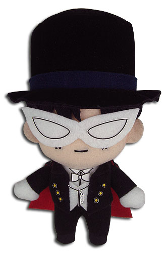 Sailor Moon - Tuxedo Mask Plush 5