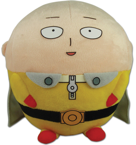 One Punch Man - Saitama Ball Plush, an officially licensed product in our One-Punch Man Plush department.