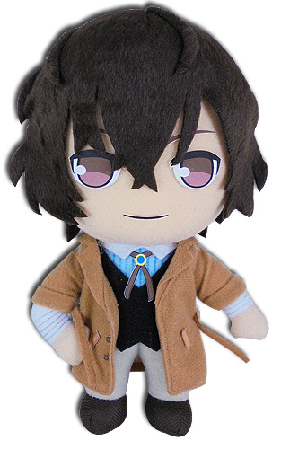 Bungo Stray Dogs - Osamu Plush 8, an officially licensed Bungo Stray Dogs product at B.A. Toys.