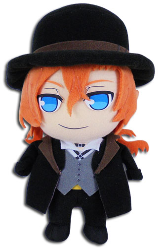 Bungo Stray Dogs - Chuya Plush, an officially licensed Bungo Stray Dogs product at B.A. Toys.