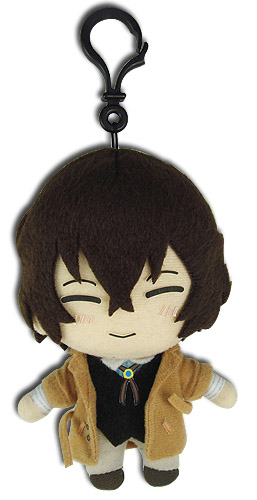 Bungo Stray Dogs - Osamu Plush 5, an officially licensed Bungo Stray Dogs product at B.A. Toys.