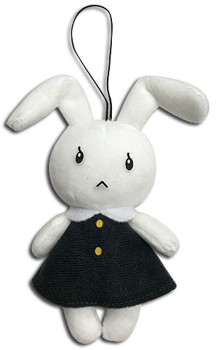 Bungo Stray Dogs - Rabbit Plush 4'', an officially licensed Bungo Stray Dogs product at B.A. Toys.