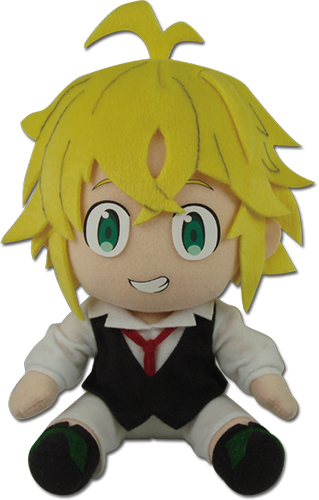 The Seven Deadly Sins - Meliodas Sitting Pose Plush 7'' officially licensed The Seven Deadly Sins Plush product at B.A. Toys.