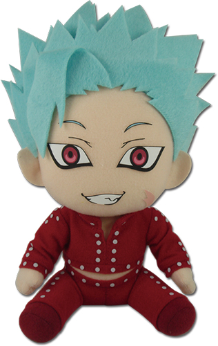 The Seven Deadly Sins - Ban Sitting Pose Plus 7'' officially licensed The Seven Deadly Sins Plush product at B.A. Toys.