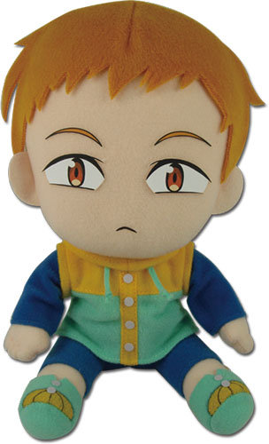 The Seven Deadly Sins - King Sitting Pose Plush officially licensed The Seven Deadly Sins Plush product at B.A. Toys.