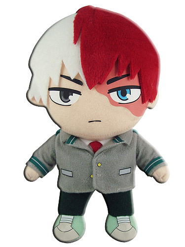 My Hero Academia - Todoroki Uniform Plush, an officially licensed product in our My Hero Academia Plush department.