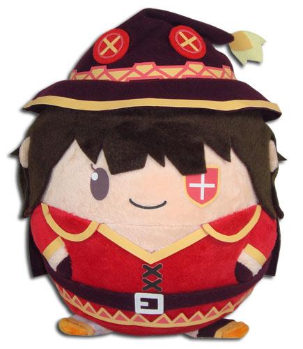 Konosuba - Megumin Ball Plush officially licensed Konosuba Plush product at B.A. Toys.