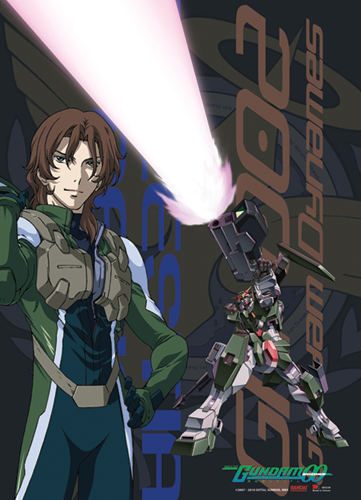 Gundam 00 Lockon And Dynames Wall Scroll, an officially licensed product in our Gundam 00 Wall Scroll Posters department.