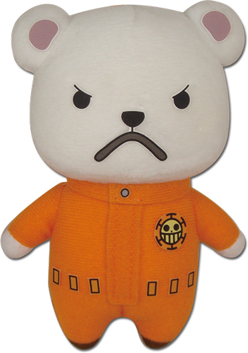 One Piece - Bepo Standing Plush 5'' officially licensed One Piece Plush product at B.A. Toys.