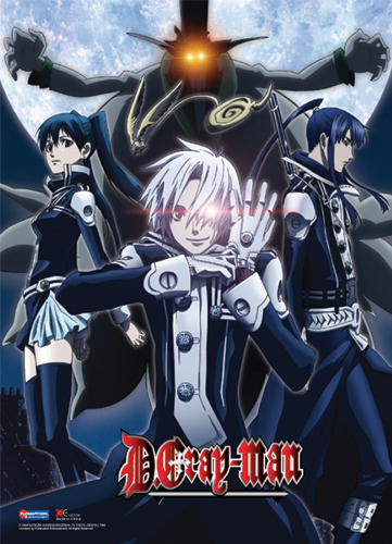 D Gray Man Group Wall Scroll, an officially licensed D Gray Man Wall Scroll