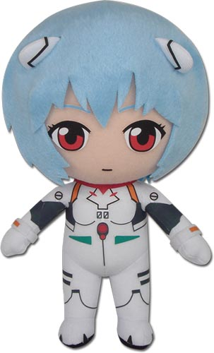 Evangelion - Rei Plugsuit Plush 8'', an officially licensed product in our Evangelion Plush department.