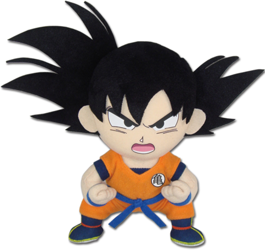 Dragon Ball Z - Goki Kaioken 01 Plush officially licensed Dragon Ball Z Plush product at B.A. Toys.